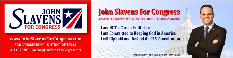 John Slavens for Congress